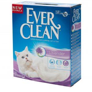 אוור קלין חול בריח לבנדר 10 ליטר Ever Clean Lavender Cat Litter