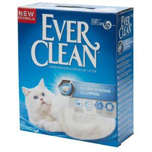 אוור קלין חול מתגבש אקסטרא 10 ליטר Ever Clean Extra Strength Unscented Litter