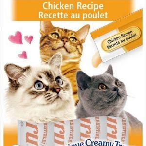 צ'ורו אינאבה חטיף נוזלי לחתול עוף 56 גרם.Churu Inaba Liquid Cat Treat Chicken 56 g