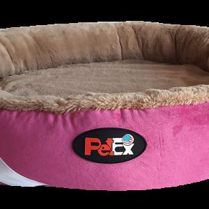 """מיטה עגולה לכלב בצבע שחור עם מזרן אורתופדי בגודל של 100 ס""""מ"""