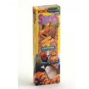קיקי מקלות דבש פירות אקזוטיים לפינקים 60 גרם Kiki Sticks Exotic Fruits For Exotic Birds