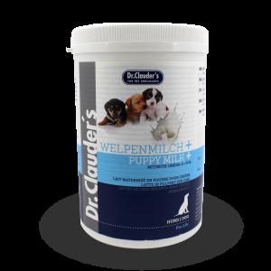 """D""""r clauders  גרם 450 אבקת חלב לגורי כלבים"""