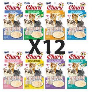 מארז 12 חטיפי צ'ורו לחתול