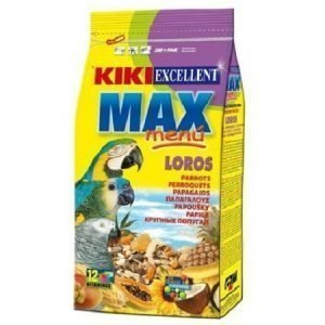 """קיקי מזון לתוכי גדול 2.5 ק""""ג Kiki Complete Food For Large Parrots"""