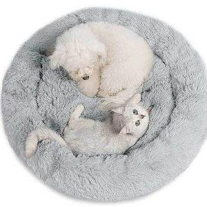 """מיטה פרוותית לחתולים קוטר 60 ס""""מ"""