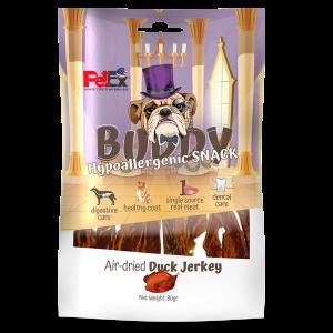 באדי סנאק |חטיפי ברווז מיובשים לכלב |80 גרם