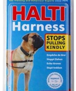 הלטי רתמת גוף לכלב נגד משיכות – HALTI Harness גדלים שונים