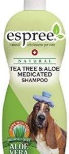 """שמפו לכלב עץ התה ואלוורה אספריי -ESPREE בנפח 590 מ""""ל"""