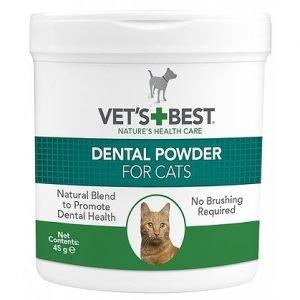ווט בסט אבקת דנטלית לחתול 45 גרם Dental Powder for Cats 45g