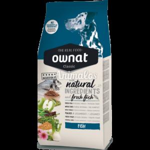 """מזון לכלבים אוונט קלאסיק דגים 20 ק""""ג Qwnat classic"""
