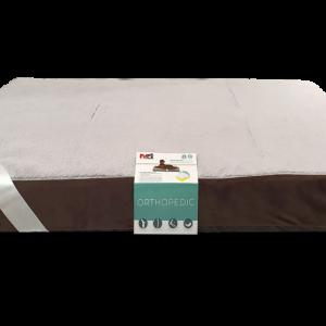 """פטקס -מזרן אורתופדי לכלב ,אנטי בקטריאלי בצבע חום 10*70*118ס""""מ"""