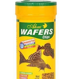 "מזון לדגי קרקעית 100 מ""ל AHM Wafers Chips"