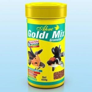 מזון גרגירים לדגי זהב מיקס AHM
