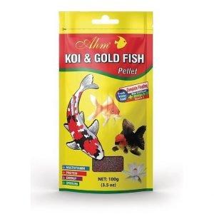 מזון לדגי בריכה שקיות 100 גרם AHM