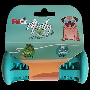 מנשך דנטלי לכלב מצוין לניקוי השיניים ניחוח מנטה מרענן דגם ER011