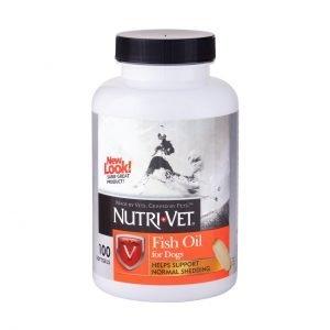 נוטרי וט כמוסות שמן סלמון – 60 כמוסות Nutri Vet Salmon Oil Softgels