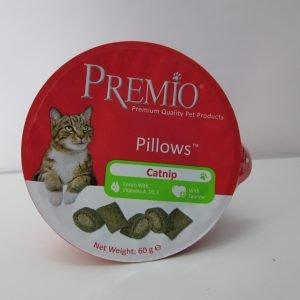 פרמיו חטיף כריות לחתול עם קטניפ 60 גרם/PREMIO Pillows Catnip
