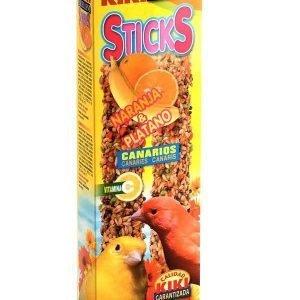קיקי מקלות דבש פירות יער לכנר 60 גרם Kiki Sticks Forest Fruits For Canaries