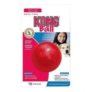 משחק לכלב כדור קונג בינוני Medium KONG Ball