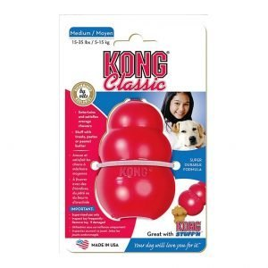 משחק לכלב קונג קלאסיק בינוני KONG Classic Medium