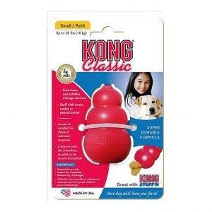 משחק לכלב קונג קלאסיק קטן KONG Classic Small