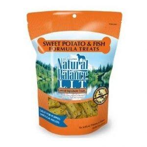 חטיף נטורל באלנס דגים ובטטה ללא דגנים 397 גרם Natural Balance Treats Sweet Potato & Fish