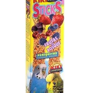 קיקי מקלות דבש פירות יער לתוכונים 60 גרם Kiki Sticks Forest Fruits For Budgerigars
