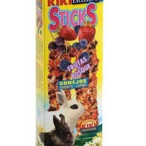 קיקי מקלות דבש פירות יער לארנב 112 גרם Kiki Sticks Berries For Rabbits