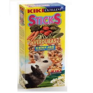 קיקי מקלות דבש ירקות לארנב 112 גרם Kiki Sticks Vegetables For Rabbits